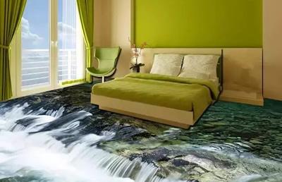 河南郑州聚一墙体彩绘——室内装修与3D立体画结合是一种怎样体验?