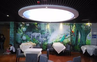 河南郑州聚一墙体彩绘—让墙体彩绘手绘壁画为你的室内装修装出高级感