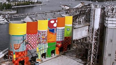 大师级筒仓灰库烟囱彩绘壁画,20年只做一件事更多创意带来新商机