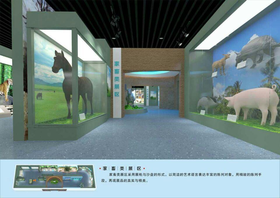 【标本馆壁画项目案例】——广西柳州兽医畜牧学校