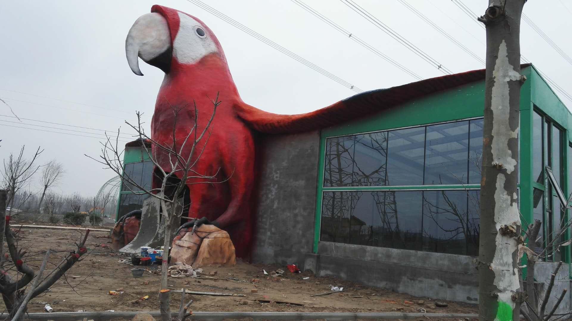 【动物园壁画项目案例】——濮阳东北野生动物园