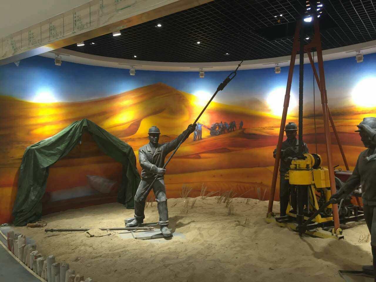 【浮雕项目案例】——山东泰安地质博物馆