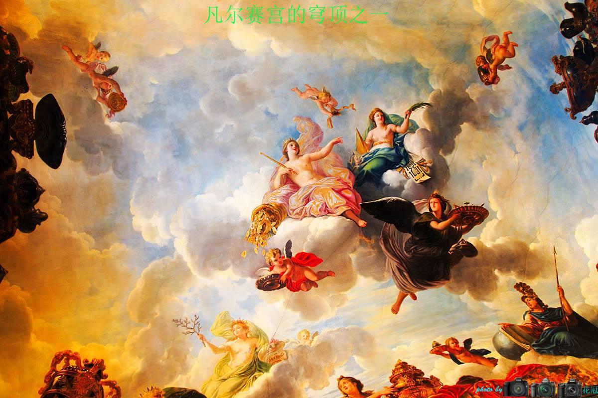 【穹顶壁画项目案例】——穹顶壁画油画